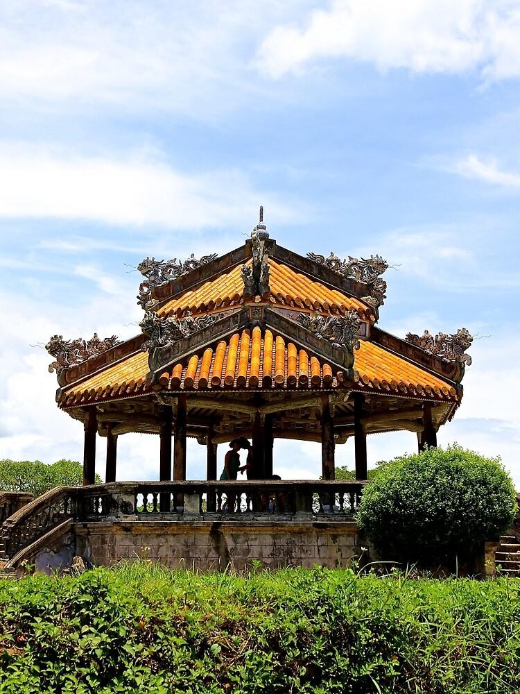 The Lovers' Pergola - Hue, Vietnam. by Tiffany Lenoir
