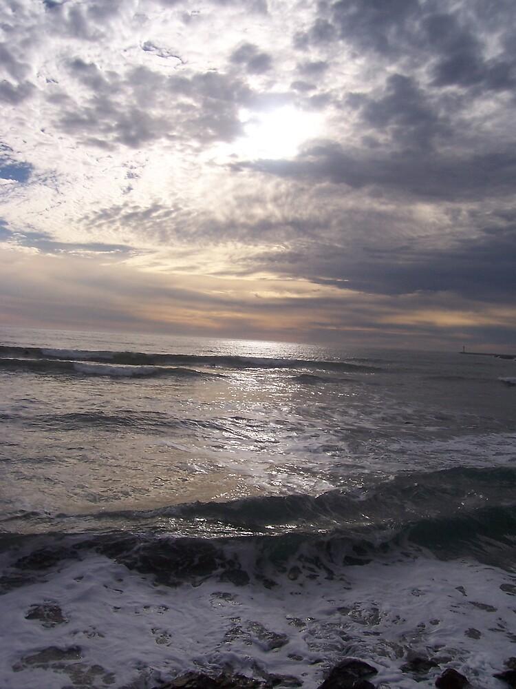 Sunlight and Seascape by irisopiate