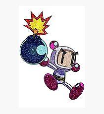 Glitter Bomberman Photographic Print
