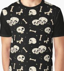 Skullery pattern Graphic T-Shirt