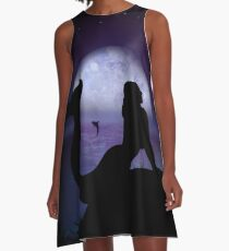 Mermaid A-Line Dress