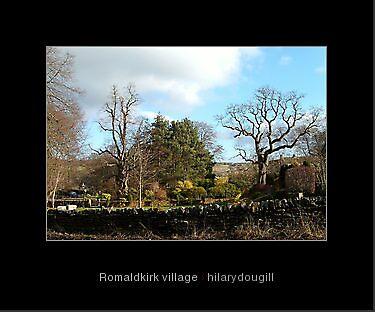 Romaldkirk village by hilarydougill