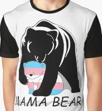 Transgender Pride Mama Bär Grafik T-Shirt