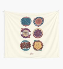 ETC - Expressive Therapies Continuum Wall Tapestry