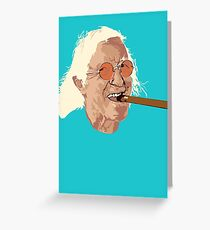 Jimmy Savile Greeting Card