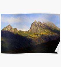 Cradles of Time- Cradle Mountain National Park, Tasmania, Australia Poster