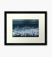 Waves in Iceland - Landscape Photography Framed Print