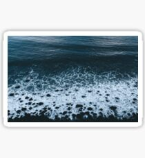 Waves in Iceland - Landscape Photography Sticker