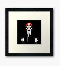 Mario cool Framed Print