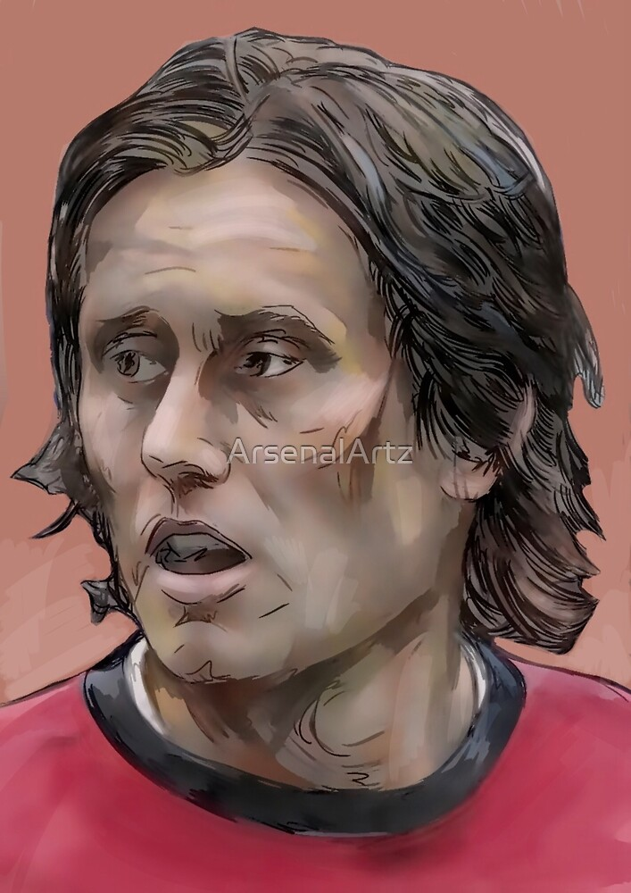 Tomas Rosicky by ArsenalArtz