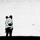 Kissing Coppers by Jye Murray