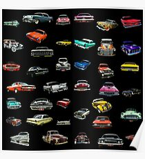 Car Cluster Poster