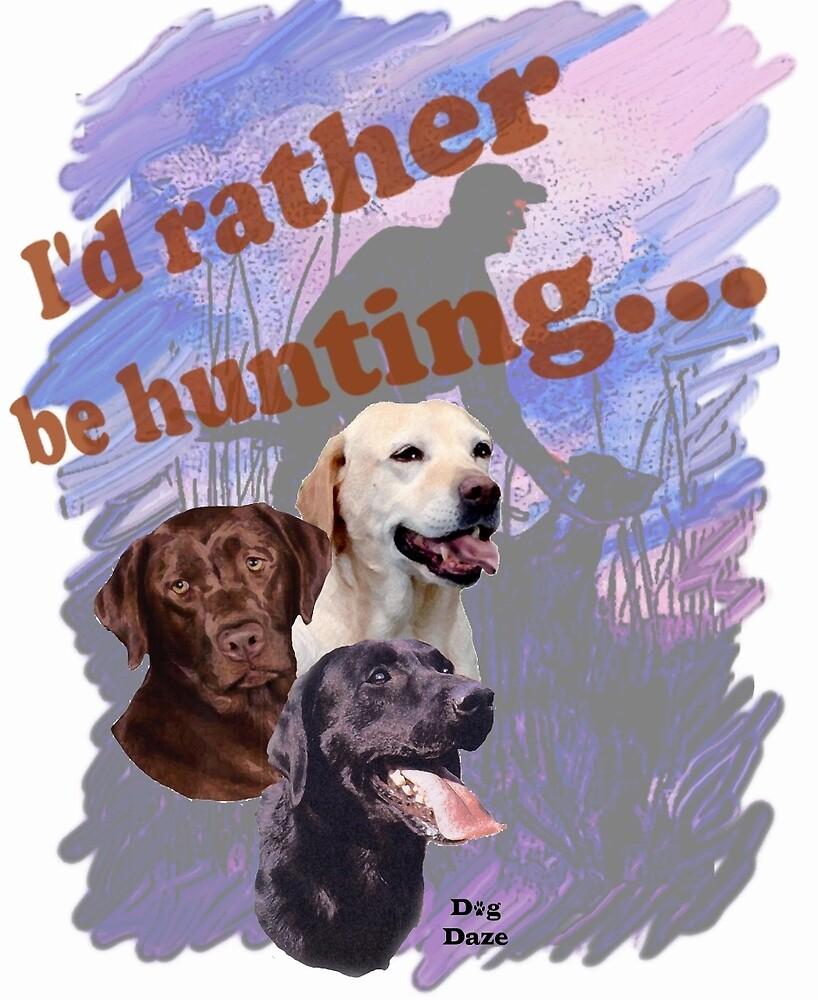 Hunting Labrador Retriever by IowaArtist