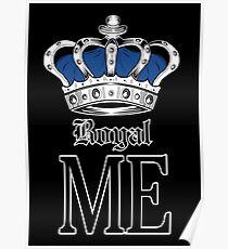 Royal Me - Blue (2) Poster