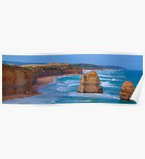 Set In Stone - Great Ocean Road. , Great Otway National Park , Victoria Australia Poster