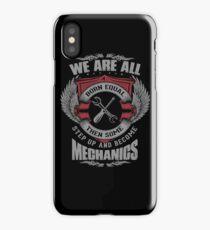 Mechanics iPhone Case