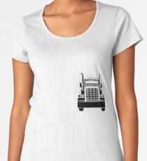Funny truck driver shirt Women's Premium T-Shirt