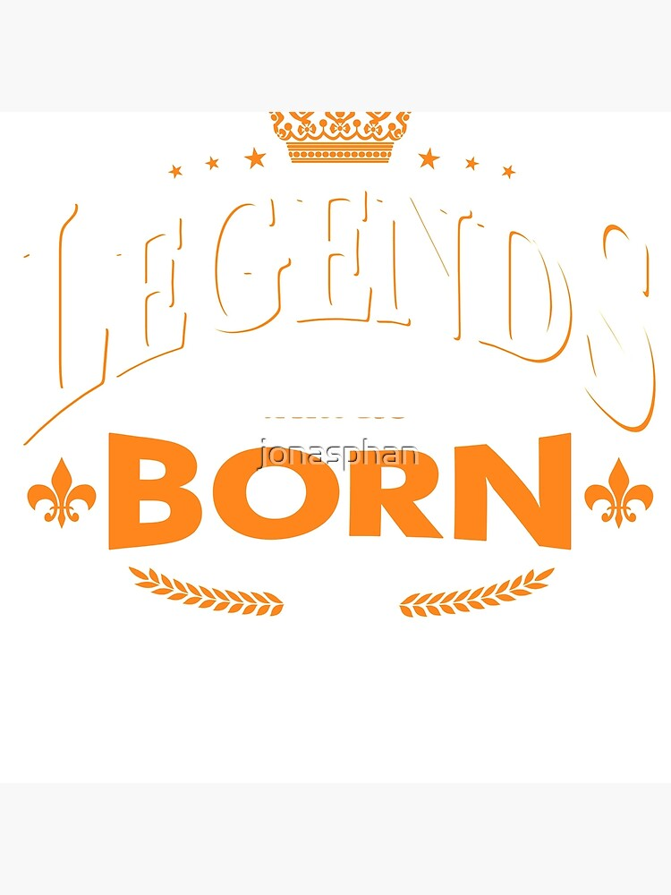 Legends are born in July by jonasphan