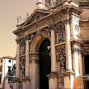 VENICE. Basilica S.  Maria della Salute by terezadelpilar