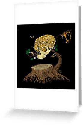 Skull Honey by Luz Cruz