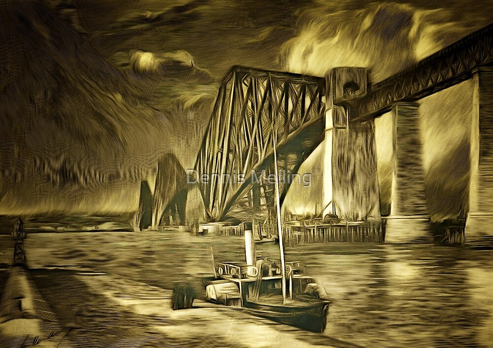 The Forth Rail Bridge, Scotland 1898 (includes video) by Dennis Melling