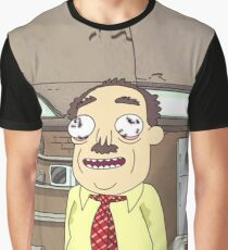 Rick and Morty Ants in my Eyes Johnson  Graphic T-Shirt