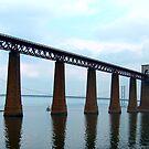 Forth Rail Bridge II by Tom Gomez