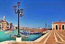 Venice. Promenade of Basilica of S.Maria della Salute. by terezadelpilar ~ art & architecture