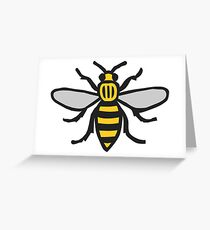 Manchester Bee, Classic Edition Greeting Card
