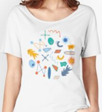 Friendly Bacteria 1.0 Women's Relaxed Fit T-Shirt