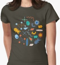 Friendly Bacteria 1.0 Womens Fitted T-Shirt