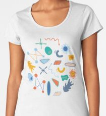 Friendly Bacteria 1.0 Women's Premium T-Shirt