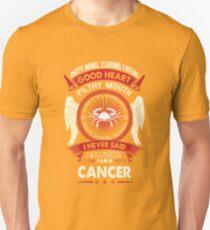 Cancer Tshirt. Birthday Shirt For Men/Women. Best Gifts Unisex T-Shirt