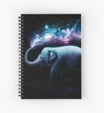 Elephant Splash Spiral Notebook