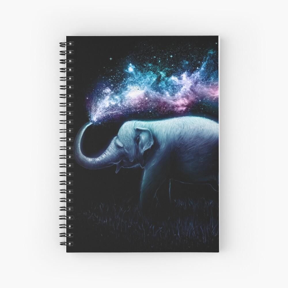 Elefant-Spritzen Spiralblock