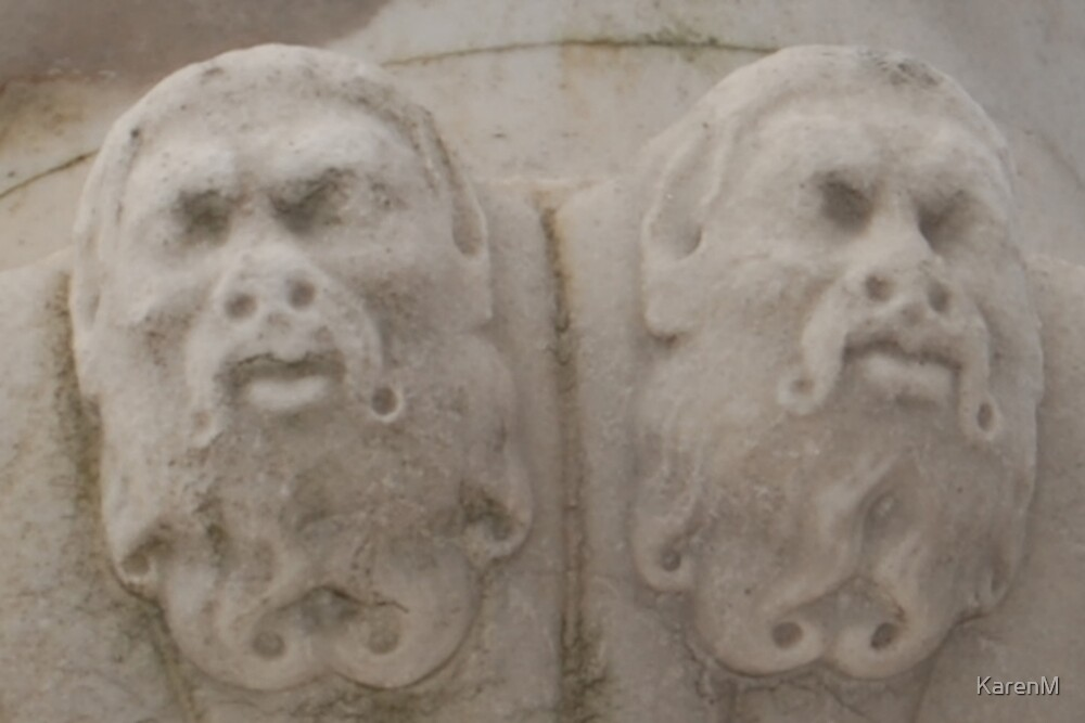 Stone Faces by KarenM