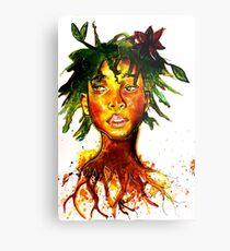 Willow Smith Metal Print