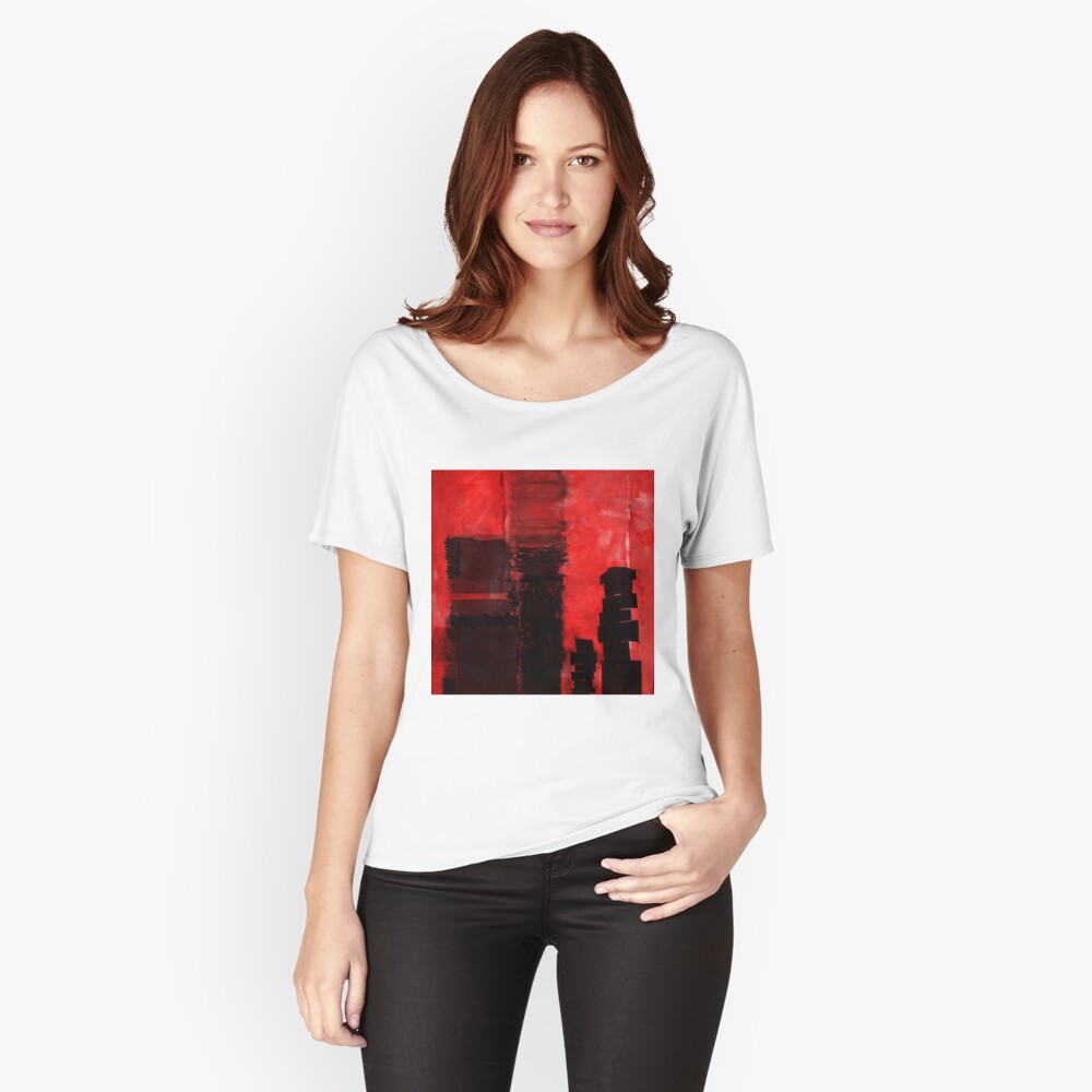 1068 Women's Relaxed Fit T-Shirt Front