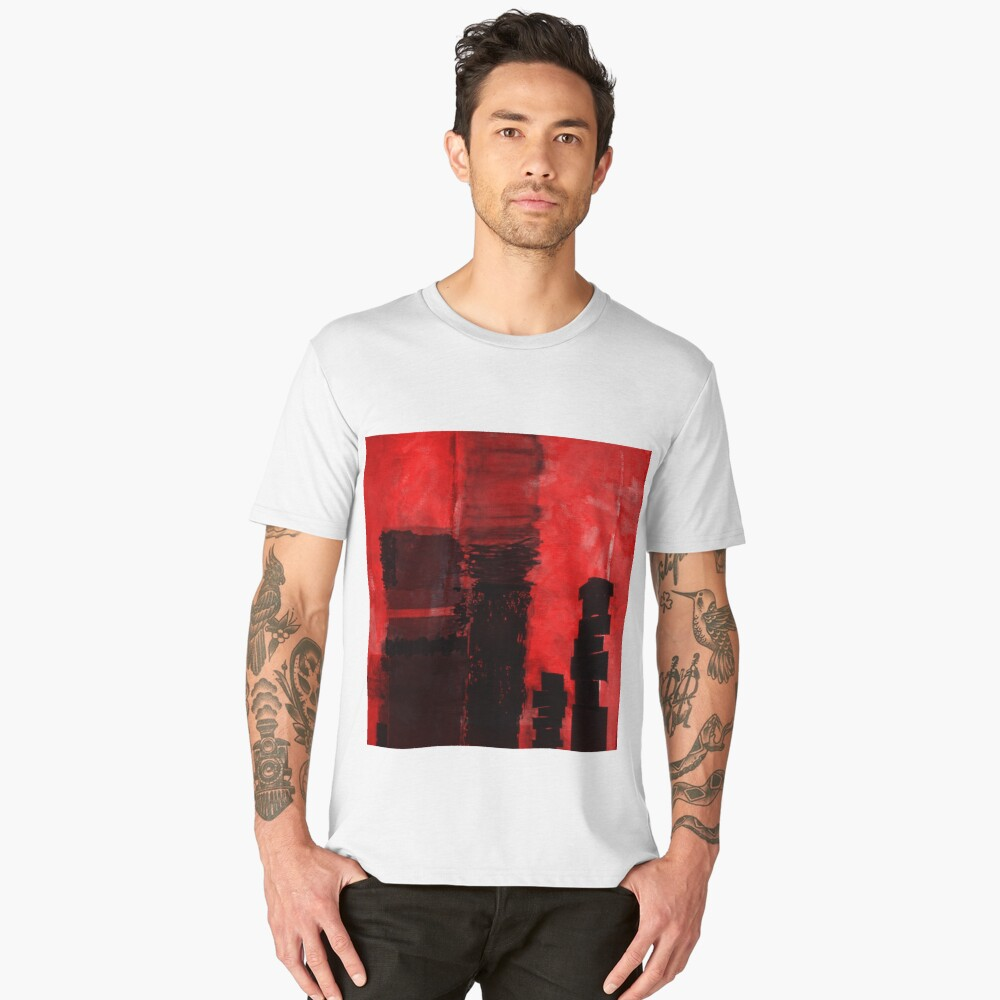 1068 Men's Premium T-Shirt Front
