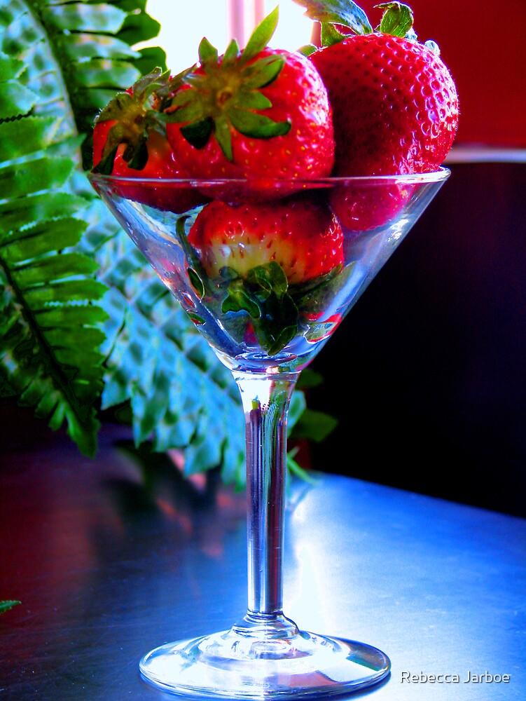 Strawberry Martini by Rebecca Jarboe