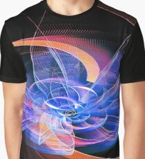 Swirl Abstraction Graphic T-Shirt
