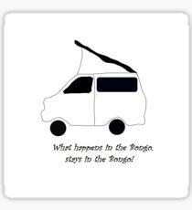 Mazda Bongo Sticker
