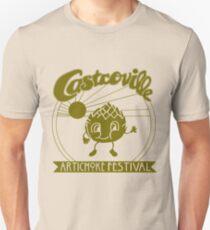The ORIGINAL CASTROVILLE ARTICHOKE FESTIVAL - Dustin's shirt in Stranger Things! Unisex T-Shirt