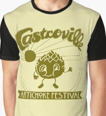 The ORIGINAL CASTROVILLE ARTICHOKE FESTIVAL - Dustin's shirt in Stranger Things! Graphic T-Shirt