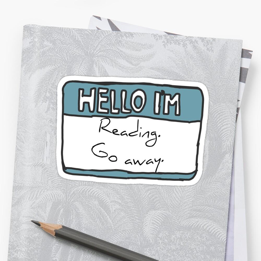 Hello I'm Reading by Chloe Lamplugh
