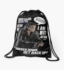 Octavia Blake - The 100 Drawstring Bag