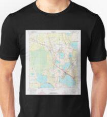 USGS TOPO Map Florida FL Keystone Heights 346928 1949 24000 T-Shirt