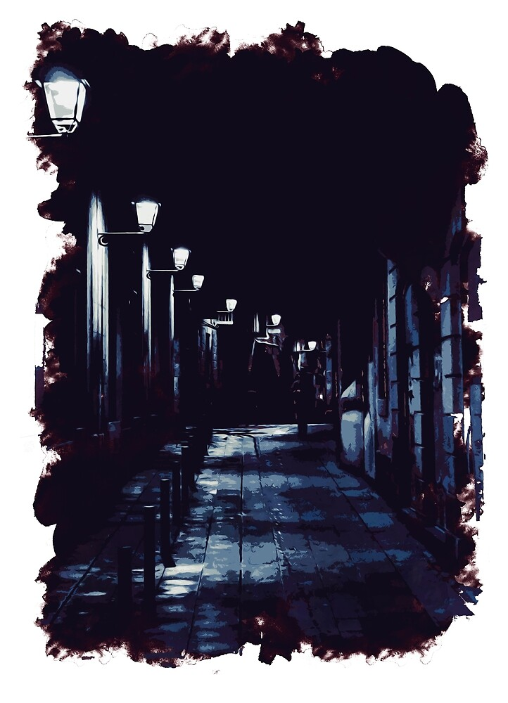 Walking in the Dark by Andrea Mazzocchetti