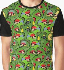 Too Many Birds! - Amazon Squad Graphic T-Shirt