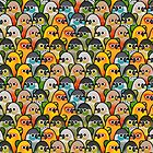 Too Many Birds! - Conure Squad by MaddeMichael